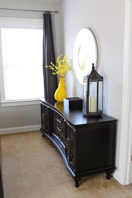 Фотография: Спальня в стиле Восточный, Декор интерьера, Дизайн интерьера, Цвет в интерьере, Желтый – фото на INMYROOM