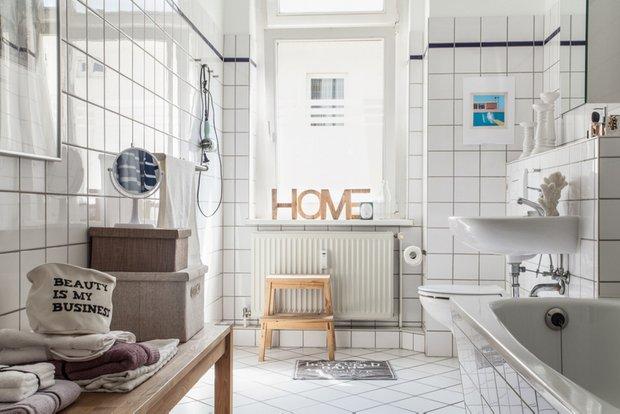 Фотография: Ванная в стиле Скандинавский, Советы, Haier – фото на INMYROOM