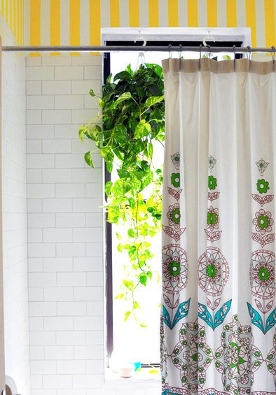 Фотография:  в стиле , Ванная, DIY, Интерьер комнат, Переделка – фото на INMYROOM