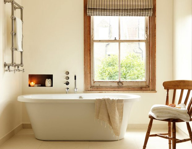 Фотография: Ванная в стиле Скандинавский, Эклектика, Интерьер комнат, Проект недели – фото на INMYROOM