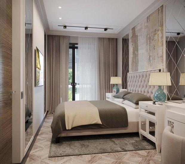 Фотография: Спальня в стиле Классический, Советы, Перепланировка, Марина Лаптева – фото на INMYROOM