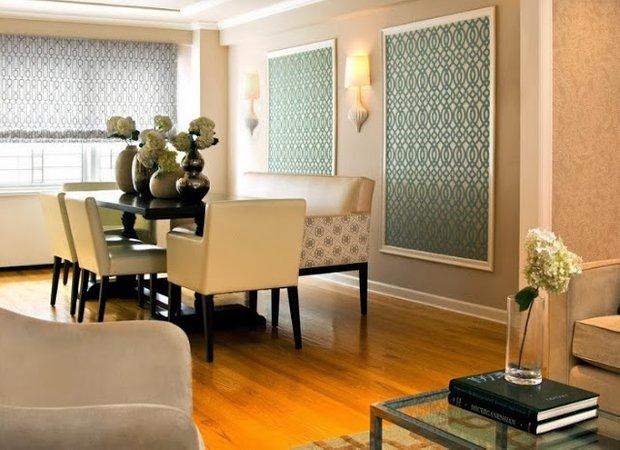 Фотография: Кухня и столовая в стиле Классический, Декор интерьера, DIY, Обои – фото на INMYROOM