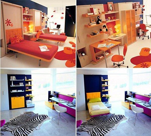 Фотография: Прочее в стиле , Детская, Декор интерьера, Мебель и свет, Кровать, Подиум – фото на INMYROOM