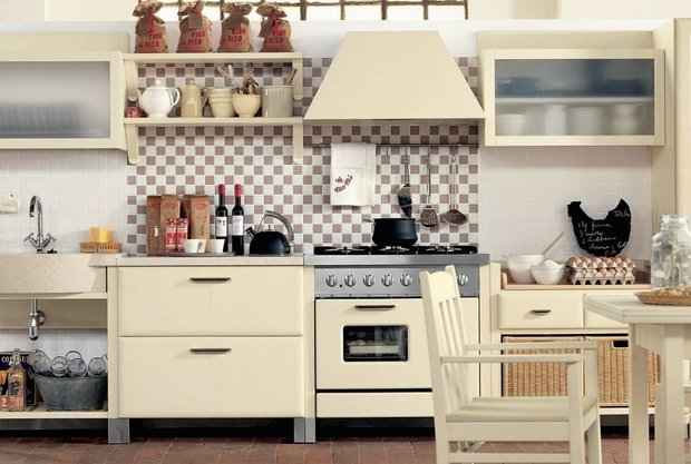 Фотография: Кухня и столовая в стиле Лофт, Советы, Ремонт на практике – фото на InMyRoom.ru