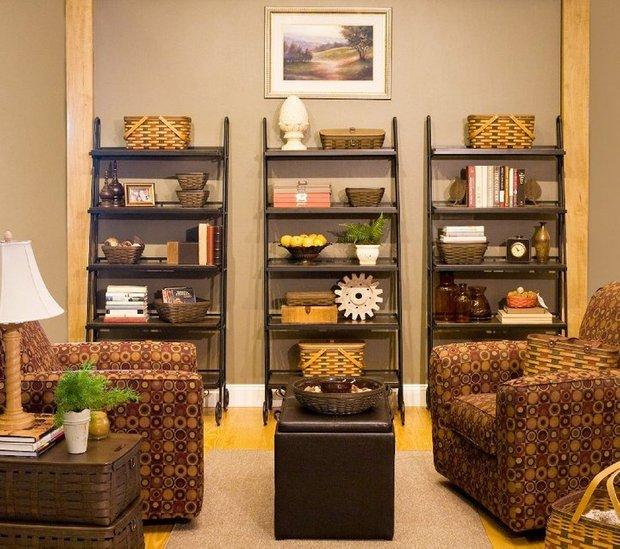 Фотография: Гостиная в стиле Прованс и Кантри, Классический, Современный, Декор интерьера, DIY, Дом, Системы хранения – фото на INMYROOM
