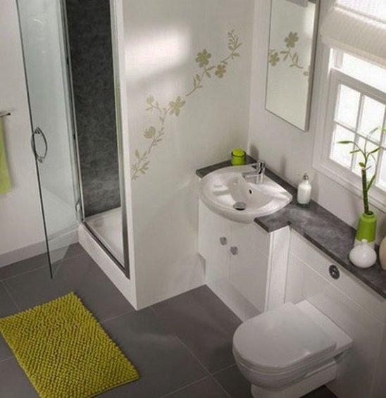 Фотография: Ванная в стиле Современный, Малогабаритная квартира, Квартира, Индустрия, События – фото на INMYROOM