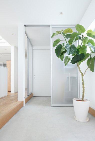 Фотография: Гардеробная в стиле Эко, Дом, Дома и квартиры, Япония – фото на INMYROOM