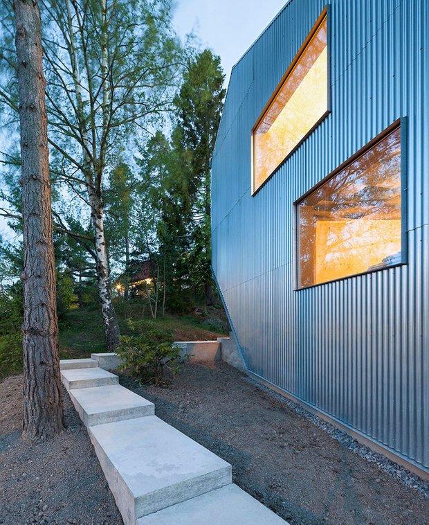 Фотография:  в стиле , Скандинавский, Швеция, Белый, Бежевый, Синий, Дом и дача, Tommy Carlsson – фото на INMYROOM