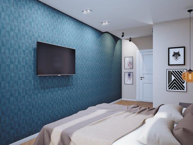 Фотография: Спальня в стиле Лофт, Современный, Классический, Квартира, Планировки, Мебель и свет, Проект недели – фото на INMYROOM