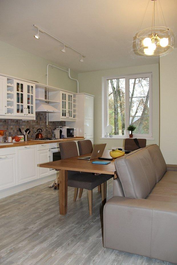 Фотография: Кухня и столовая в стиле Скандинавский, Современный, Квартира, HOFF, Дома и квартиры, IKEA – фото на INMYROOM