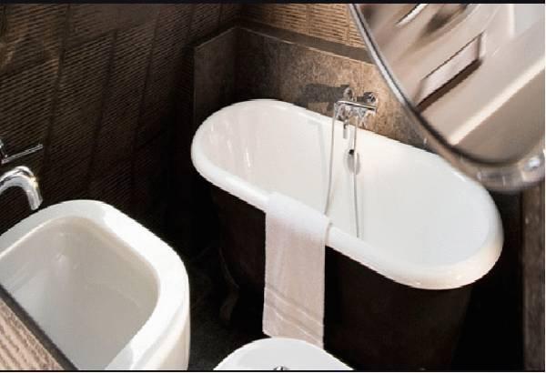 Фотография: Ванная в стиле Современный, Эклектика, Индустрия, Люди – фото на INMYROOM