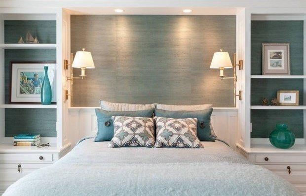Фотография: Спальня в стиле Современный, Малогабаритная квартира, Гид, энциклодпедия_малогабаритка – фото на INMYROOM