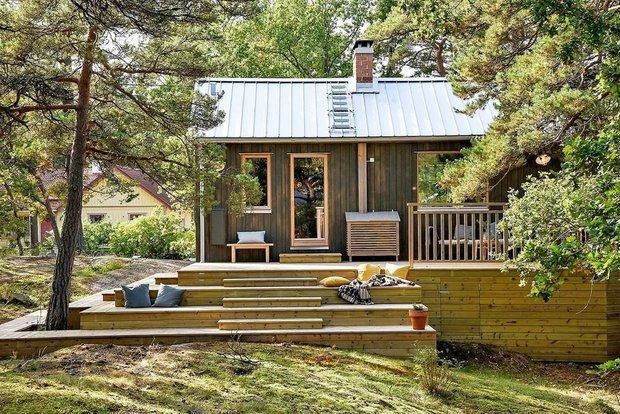 Фотография: Архитектура в стиле , Дом, Дом и дача, до 40 метров – фото на INMYROOM