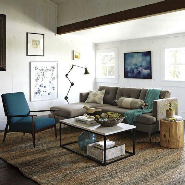 Фотография: Гостиная в стиле Прованс и Кантри, Лофт, Декор интерьера, DIY, Эко – фото на INMYROOM