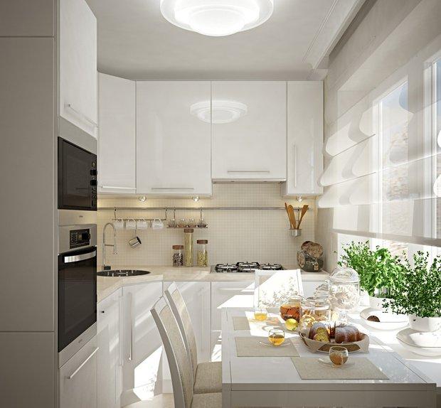 Фотография: Кухня и столовая в стиле Современный, Перепланировка, Finnish – фото на INMYROOM