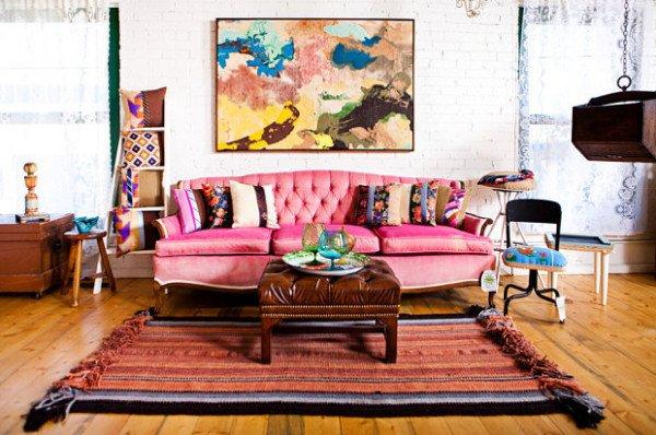 Фотография: Гостиная в стиле , Стиль жизни, Советы, Постеры, Винтаж – фото на INMYROOM