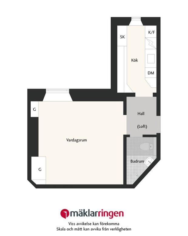 Фотография: Планировки в стиле , Малогабаритная квартира, Советы – фото на INMYROOM