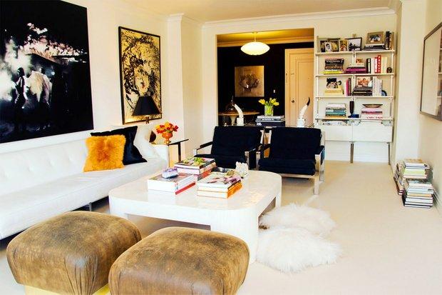 Фотография: Гостиная в стиле Скандинавский, Эклектика, Декор интерьера, Мебель и свет – фото на INMYROOM