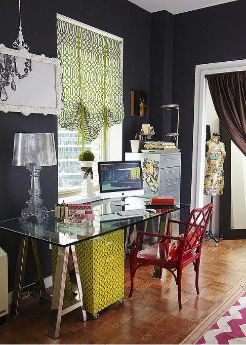 Фотография: Кабинет в стиле Прованс и Кантри, Квартира, Советы, Гид – фото на INMYROOM