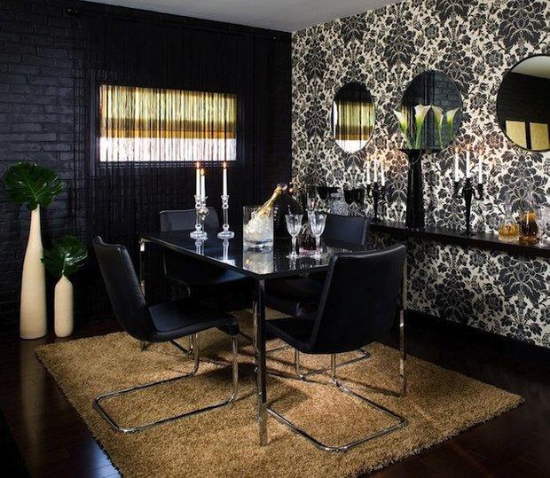 Фотография: Кухня и столовая в стиле Эклектика, Интерьер комнат, Обеденная зона – фото на INMYROOM