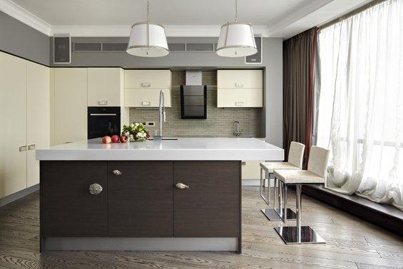 Фотография: Кухня и столовая в стиле Минимализм, Классический, Эклектика, Квартира, Дома и квартиры – фото на INMYROOM