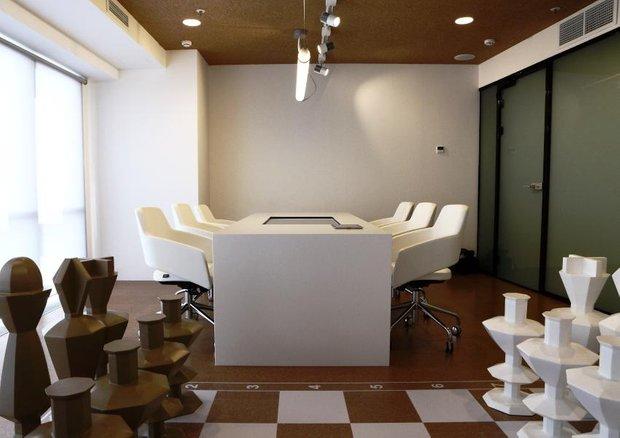 Фотография: Офис в стиле Современный, Офисное пространство, Дома и квартиры – фото на INMYROOM