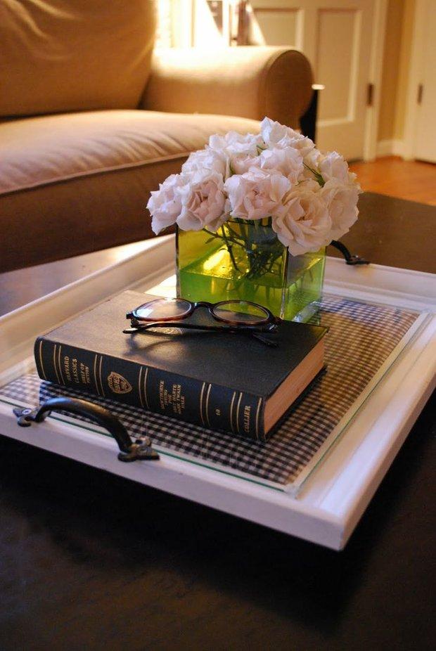 Фотография: Декор в стиле Прованс и Кантри, Декор интерьера, Аксессуары, Декор дома, Цветы, Журнальный столик – фото на INMYROOM