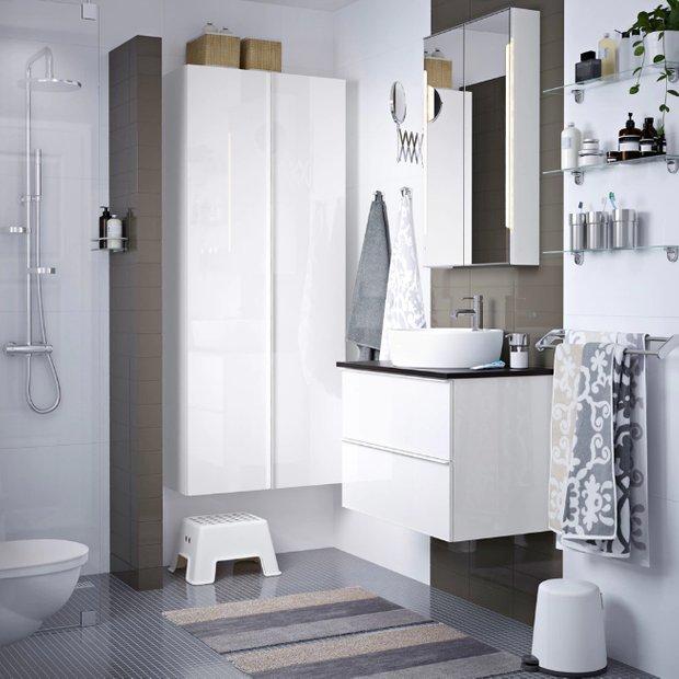 Фотография: Ванная в стиле Современный, Гид, ИКЕА – фото на InMyRoom.ru