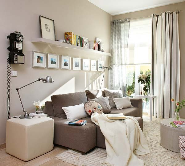Фотография: Гостиная в стиле Скандинавский, Современный, Декор интерьера, Мебель и свет, Декор дома – фото на INMYROOM