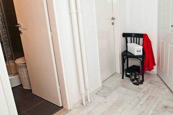 Фотография: Прихожая в стиле Минимализм, Скандинавский, DIY, Малогабаритная квартира, Квартира, Дома и квартиры – фото на INMYROOM