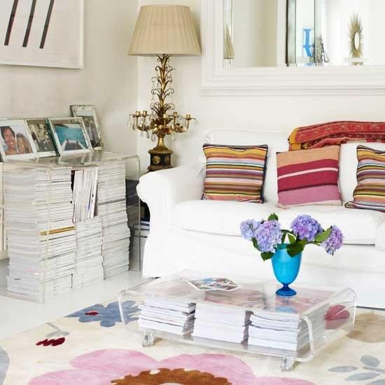 Фотография: Гостиная в стиле Эклектика, Интерьер комнат – фото на INMYROOM