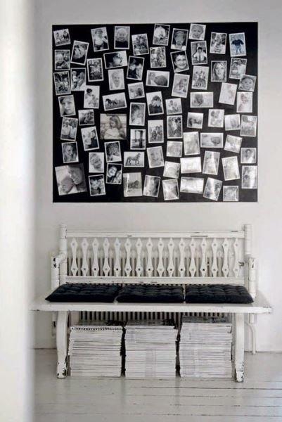 Фотография: Декор в стиле Прованс и Кантри, Скандинавский, Декор интерьера, Квартира, Аксессуары, Советы, чем украсить пустую стену, идеи декора пустой стены – фото на INMYROOM