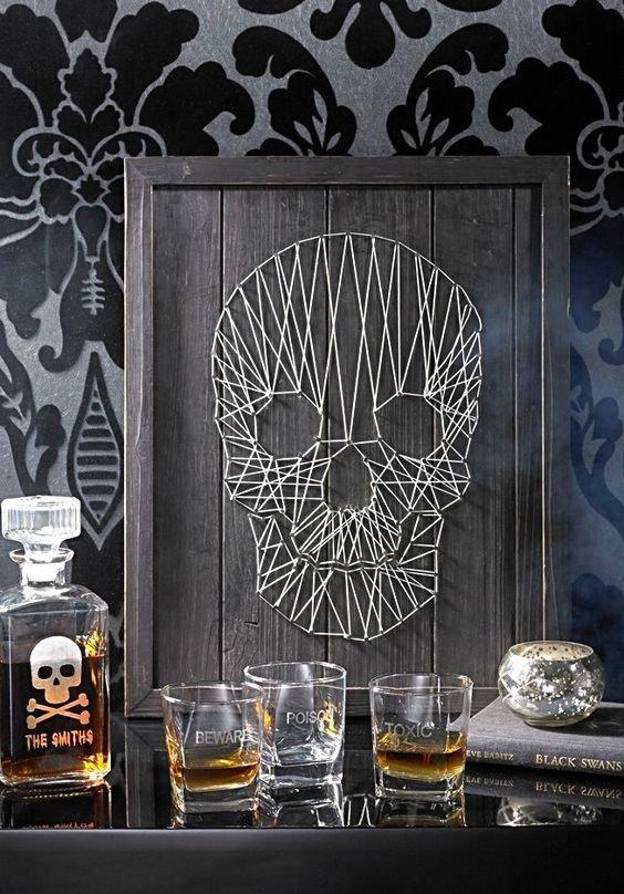 Фотография: Декор в стиле Лофт, Советы, как оформить дом к Хэллоуину, декор интерьера на Хэллоуин – фото на INMYROOM