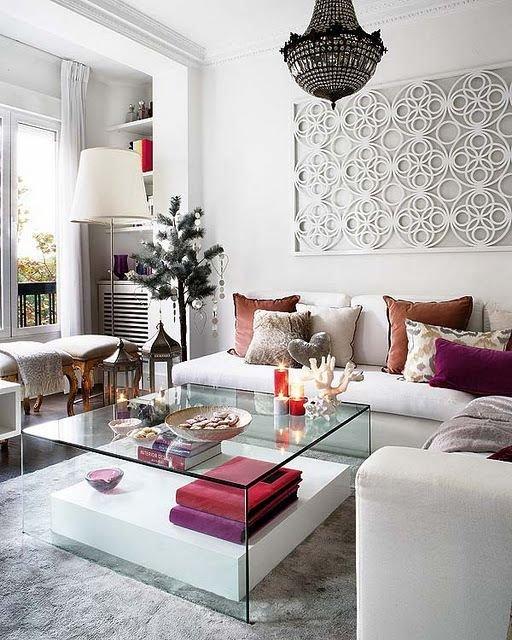 Фотография: Гостиная в стиле Эклектика, Восточный, Декор интерьера, Декор, марроканский стиль в интерьере, марокканский стиль – фото на INMYROOM