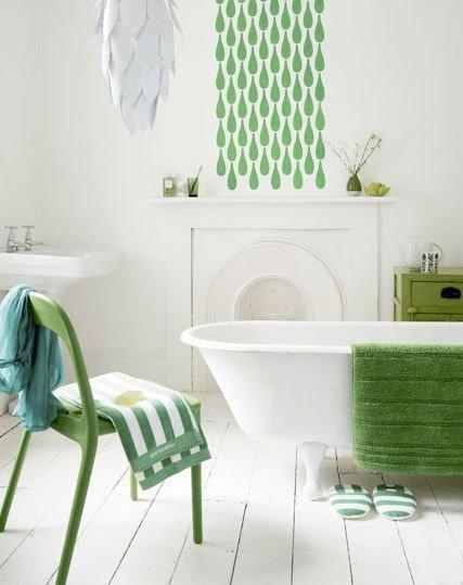 Фотография: Ванная в стиле Прованс и Кантри, Декор интерьера, Декор дома, Пол – фото на INMYROOM