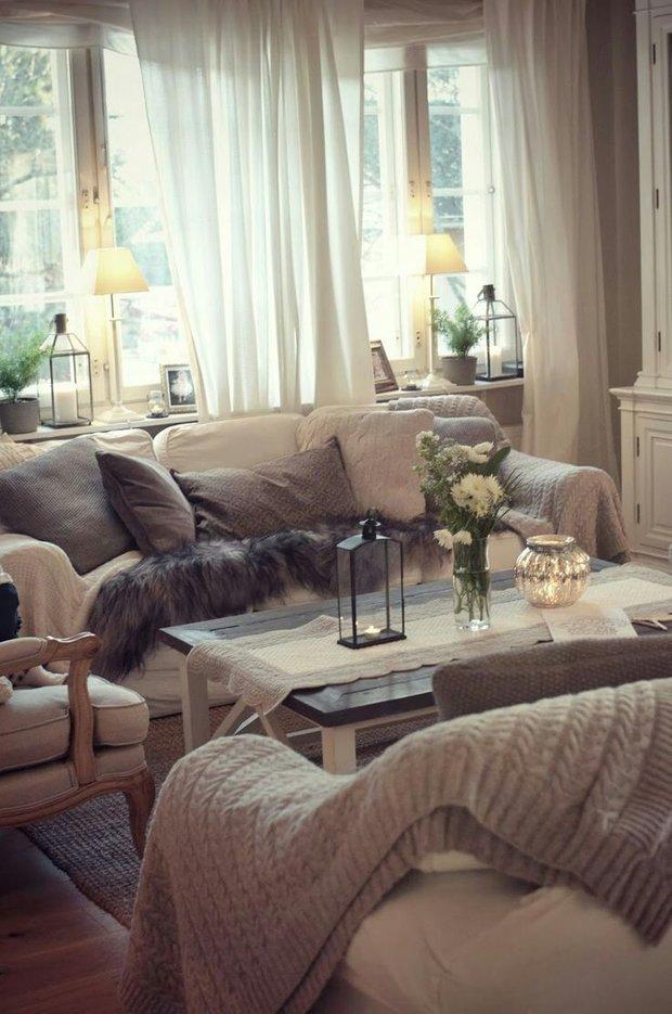 Фотография: Гостиная в стиле Прованс и Кантри, Стиль жизни, Советы – фото на INMYROOM