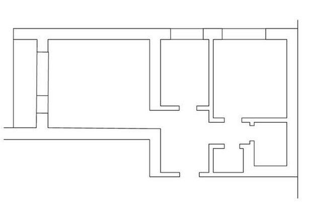 Фотография: Планировки, Прочее в стиле , Скандинавский, Квартира, Цвет в интерьере, Дома и квартиры, Перепланировка, Серый – фото на INMYROOM