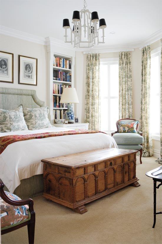 Фотография: Спальня в стиле Классический, Современный, Декор интерьера, Интерьер комнат, Ретро – фото на INMYROOM