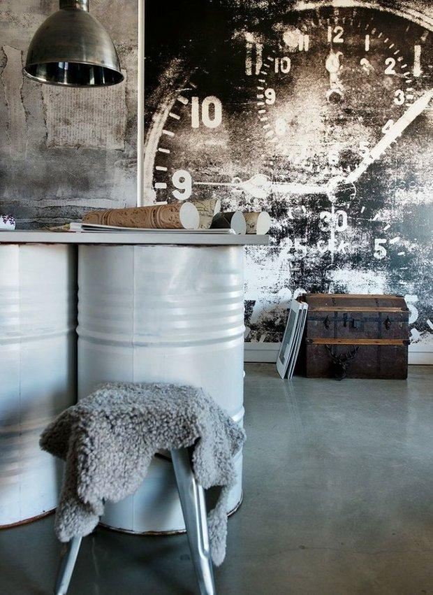 Фотография: Мебель и свет в стиле Лофт, Дизайн интерьера, Декор, Индустриальный – фото на INMYROOM