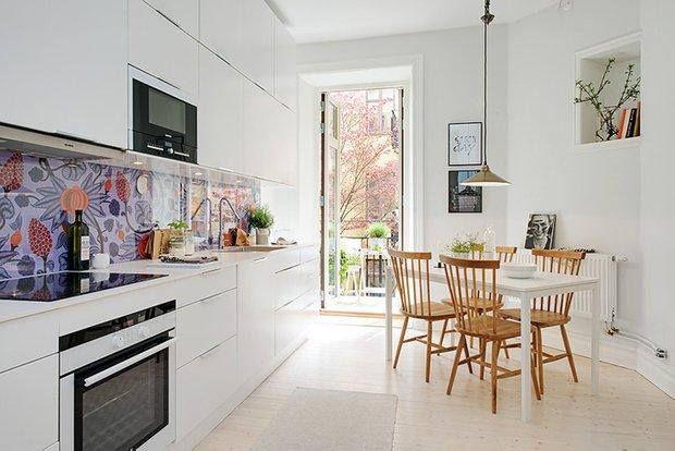 Фотография: Кухня и столовая в стиле Лофт, Скандинавский, Интерьер комнат, Проект недели – фото на INMYROOM