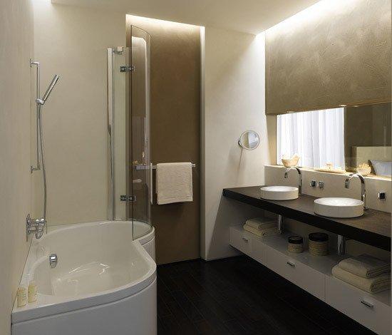 Фотография: Ванная в стиле Современный, Декор интерьера, Мебель и свет, Светильник – фото на INMYROOM