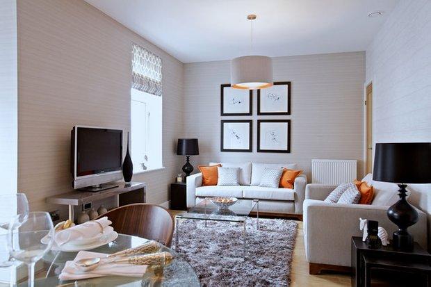 Фотография: Гостиная в стиле Эклектика, Интерьер комнат, Декор, Советы – фото на INMYROOM