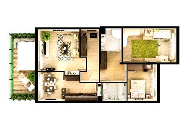 Фотография: Планировки в стиле , Советы, Перепланировка, 3 комнаты, 4 и больше, МИЦ – фото на INMYROOM