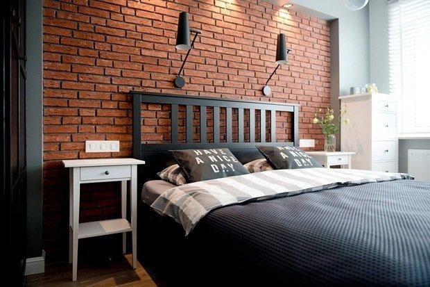 Фотография: Спальня в стиле Лофт, Скандинавский, Декор интерьера, Квартира, Советы, Дорого и бюджетно – фото на InMyRoom.ru