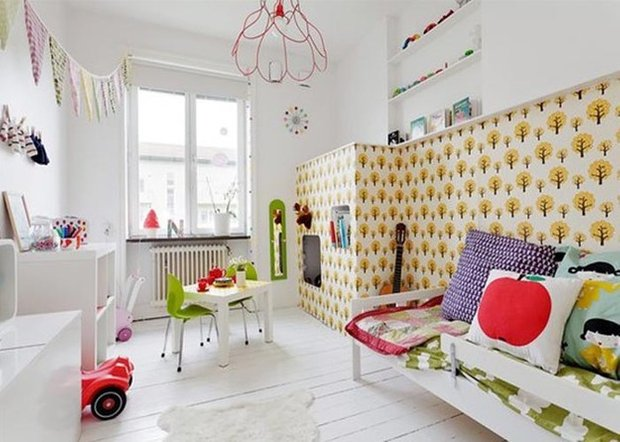 Фотография: Детская в стиле Скандинавский, Декор интерьера, Декор дома – фото на INMYROOM