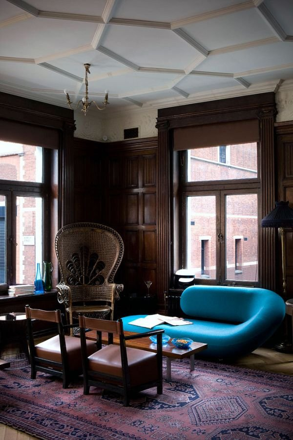 Фотография: Гостиная в стиле Эклектика, Ремонт на практике – фото на INMYROOM