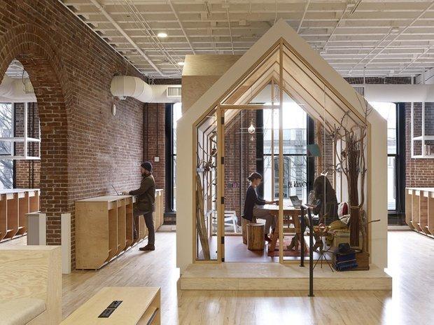 Фотография: Гостиная в стиле Современный, Лофт, Декор интерьера, Офисное пространство, Офис – фото на INMYROOM