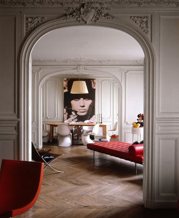 Фотография: Кухня и столовая в стиле , Квартира, Франция, Дома и квартиры, Париж, Maison & Objet – фото на INMYROOM