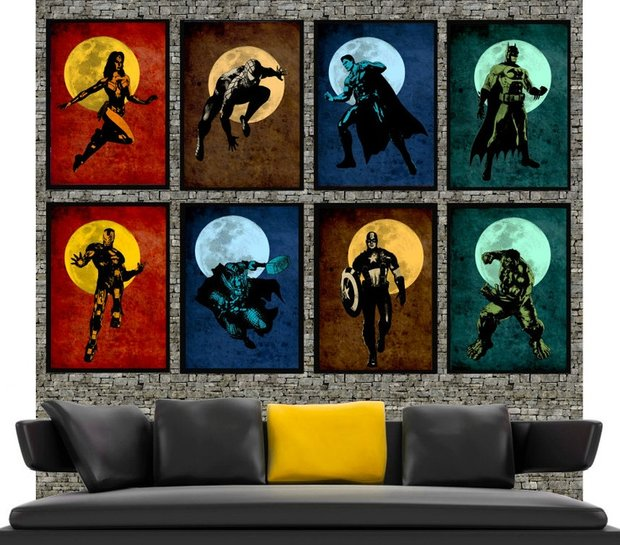Фотография: Прочее в стиле , Декор интерьера, Декор дома, Картины, Поп-арт – фото на INMYROOM