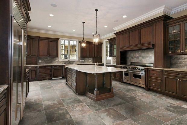 Фотография: Кухня и столовая в стиле , Интерьер комнат, Плитка – фото на INMYROOM